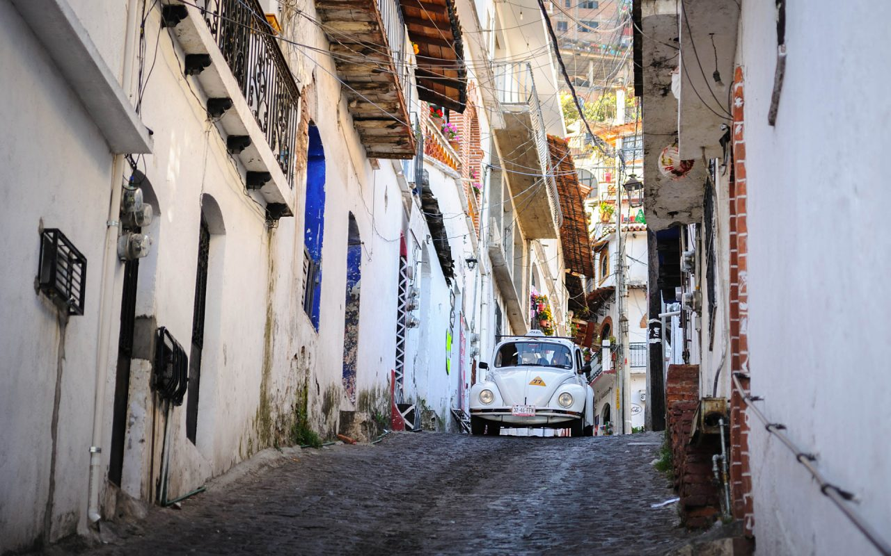 VW Käfer Taxi in Taxco